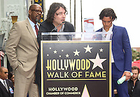 HOLLYWOOD, LOS ANGELES, CA, USA - APRIL 02: Forest Whitaker, David Leveaux, Orlando Bloom at Orlando Bloom's star ceremony on the Hollywood Walk of Fame (2,521st star) in the category of Motion Pictures held at 6927 Hollywood Boulevard (next to TCL Chinese Theatre and Madame Tussauds Hollywood) on April 2, 2014 in Hollywood, Los Angeles, California, United States. (Photo by Celebrity Monitor)