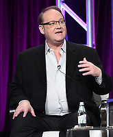 "BEVERLY HILLS - AUGUST 1:  Executive Producer/Creator Marc Cherry onstage during the ""Why Women Kill"" panel at the CBS All Access portion of the Summer 2019 TCA Press Tour at the Beverly Hilton on August 1, 2019 in Los Angeles, California. (Photo by Frank Micelotta/PictureGroup)"