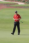 Dubai World Championship Golf. Earth Course,.Jumeirah Golf Estate, Dubai, U.A.E...Ross Fisher on the 5th during the first round of the Dubai World Golf championship..Photo: Fran Caffrey/www.golffile.ie...