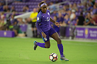Orlando, FL - Tuesday August 08, 2017: Chioma Ubogagu during a regular season National Women's Soccer League (NWSL) match between the Orlando Pride and the Chicago Red Stars at Orlando City Stadium.