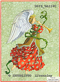 Ingrid, HOLY FAMILIES, HEILIGE FAMILIE, SAGRADA FAMÍLIA, paintings+++++,USISGAI18C,#XR# angels ,vintage