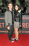 "LOS ANGELES, CA. - May 25: Zac Efron and Vanessa Hudgens arrive at the ""Get Him To The Greek"" Los Angeles Premiere at The Greek Theatre on May 25, 2010 in Los Angeles, California."