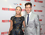 Barrett Williams and Joey McIntyre attends the Garry Marshall Tribute Performance of 'Pretty Woman:The Musical' at the Nederlander Theatre on August 1, 2018 in New York City.