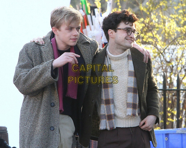 Dane DeHaan, Daniel Radcliffe<br /> in Kill Your Darlings (2013) <br /> *Filmstill - Editorial Use Only*<br /> CAP/FB<br /> Image supplied by Capital Pictures
