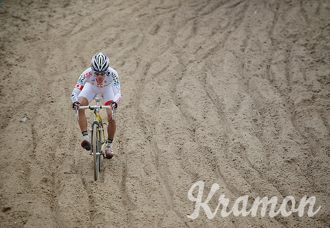 Superprestige Zonhoven 2013<br /> <br /> Yu Takenouchi (JAP) descending full speed