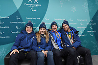 Paralympic Village Welcome ceremony / Athletes Village<br /> PyeongChang 2018 Paralympic Games<br /> Australian Paralympic Committee<br /> PyeongChang South Korea<br /> Thursday March 8th 2018<br /> &copy; Sport the library / Jeff Crow