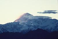 Alaska's  Mt. McKinley sunset