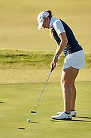 SAN ANTONIO, TX - OCTOBER 24, 2017: The University of Texas at San Antonio Roadrunners host the Maryb S. Kauth Invitational Women's Golf Tournament at the Briggs Ranch Golf Club. (Photo by Jeff Huehn)
