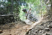 8th September 2017, Smithfield Forest, Cairns, Australia; UCI Mountain Bike World Championships; Mick Hannah (AUS) riding for Polygon UR during the downhill official timed session;