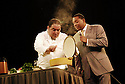"Celebrity Chef Emeril Lagasse and Jazz trumpeter Wynton Marsalis team up for ""Cookin' with Jazz,'' an educational program for school students in New Orleans, Mon., Aug. 28, 2006. The program was made possible by the Emeril Lagasse Foundation and Rebuild the Soul of America charitable trust..(AP Photo/Cheryl Gerber)."