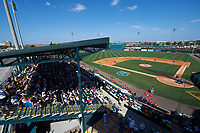 General view of a Pittsburgh Pirates Spring Training game against the Boston Red Sox on March 9, 2016 at McKechnie Field in Bradenton, Florida.  Boston defeated Pittsburgh 6-2.  (Mike Janes/Four Seam Images)