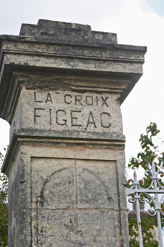 Chateau La Croix Figeac. Saint Emilion, Bordeaux, France