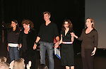 Curtain Call - As The Epic Turns: Caroline Byrne, Kathleen Widdoes, Paolo Seganti, Lauren Singeran and Martha Byrne at the ATWT reunion to benefit Epic Theatre Ensemble after-school Bridge Projects - As The Epic Turns - on April 17 & 18, 2009 at The Peter Jay Sharp Theatre, NYC. (Photo by Sue Coflin/Max Photos)