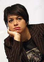 """Roma 15-12-2006 Sede Partito Radicale. Conferenza stampa di avvio della campagna iscrizioni 2007 """"Per un 2007 di lotte e conquiste umane e civili"""".  Nella foto Dolcenera.<br /> Photo Samantha Zucchi Inside (www.insidefoto.com)"""