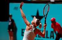Elina Svitolina of Ukaine in action against Pauline Parmentier of France during day two of the Mutua Madrid Open at La Caja Magica on May 05, 2019 in Madrid, Spain. /NortePhoto.com