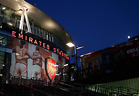A general view of the Emirates stadium during the Premier League match between Arsenal and Huddersfield Town at the Emirates Stadium, London, England on 29 November 2017. Photo by Carlton Myrie / PRiME Media Images.