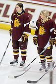 Mariia Posa (Minnesota-Duluth - 8), Kirsti Hakala (Minnesota-Duluth - 2) - The University of Minnesota-Duluth Bulldogs defeated the Boston College Eagles 3-0 on Friday, November 27, 2009, at Conte Forum in Chestnut Hill, Massachusetts.