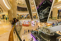 Singapore, Orchard Road Ion Mall Interior.