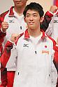 Kazuhito Tanaka (JPN), September 12, 2011 - Artistic Gymnastics : Kazuhito Tanaka attends press conference in Tokyo, Japan, regarding the Artistic Gymnastics World Championships 2011 Tokyo. (Photo by Yusuke Nakanishi/AFLO SPORT) [1090]