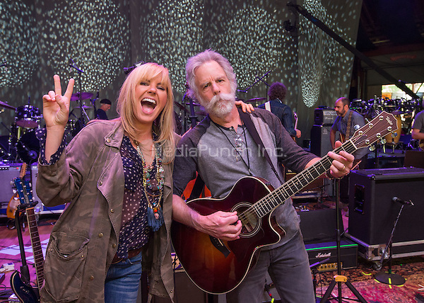 COLUMBIA , MD - May 14: ***HOUSE COVERAGE***  Grace Potter and Bob Weir pictured at Dear Jerry: Celebrating The Music of Jerry Garcia at Merriweather Post Pavillion on May 14, 2015.. Credit:  Erik Kabik Photography./MediaPunch