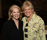 Daryl Roth and Lynn Sherr attend the Off-Broadway Opening Night After Call for 'Vitaly: An Evening of Wonders' at The Palm Restaurant on June 20, 2018 in New York City.