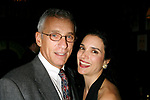 Laura Koffman (One Life To Live) & <br />Marlk La Mura (ALL MY CHILDREN) attending the Opening Night Performance of THE RISE OF DOROTHY HALE at the St. Lukes Theatre with an after party at Sardi's Restaurant in New York City.<br />September 30, 2007