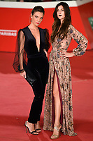 Ginevra Odescalchi and Fiamma Andrioli <br /> Roma 17/10/2019 Auditorium Parco della Musica <br /> Motherless Brooklin Red Carpet <br /> Roma Cinema Fest <br /> Festa del Cinema di Roma 2019 <br /> Photo Andrea Staccioli / Insidefoto