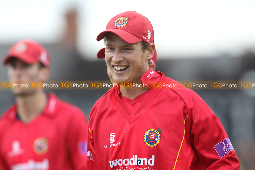 All smiles of Tom Westley of Essex after he takes four wickets in the innings - Northamptonshire Steelbacks vs Essex Eagles - Royal London One-Day Cup at the County Ground, Northampton - 21/08/14 - MANDATORY CREDIT: Gavin Ellis/TGSPHOTO - Self billing applies where appropriate - contact@tgsphoto.co.uk - NO UNPAID USE
