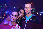 William Levins, Rachel Beggy and Kevin Fitzgerald in Earth for a night out.<br /> Picture: Shane Maguire / www.newsfile.ie