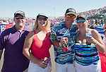 Andy Jones from Dallas, Sheree Clement from Utah, Brian Keinath from Minnasota and Julie Workman from Seattle at the Air Races at the Reno-Stead Airfield on Sunday, Sept. 20, 2015.