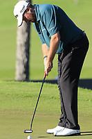 Shane Lowry (IRL) putts on the 17th green during Thursday's Round 1 of the 2018 Turkish Airlines Open hosted by Regnum Carya Golf &amp; Spa Resort, Antalya, Turkey. 1st November 2018.<br /> Picture: Eoin Clarke | Golffile<br /> <br /> <br /> All photos usage must carry mandatory copyright credit (&copy; Golffile | Eoin Clarke)