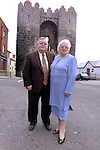 Michael and Betty Bell.Pic Fran Caffrey Newsfile..Camera:   DCS620C.Serial #: K620C-01974.Width:    1728.Height:   1152.Date:  13/12/99.Time:   11:36:34.DCS6XX Image.FW Ver:   1.9.6.TIFF Image.Look:   Product.Counter:    [775].Shutter:  1/40.Aperture:  f10.ISO Speed:  400.Max Aperture:  f2.8.Min Aperture:  f22.Focal Length:  14.Exposure Mode:  Manual (M).Meter Mode:  Color Matrix.Drive Mode:  Continuous High (CH).Focus Mode:  Single (AF-S).Focus Point:  Center.Flash Mode:  Normal Sync.Compensation:  +0.0.Flash Compensation:  +0.0.Self Timer Time:  10s.White balance: Auto (Daylight).Time: 11:36:34.276.