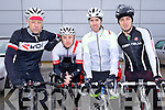 Pictured are the iBike team who took part  in the Lacey Cup Cycle on Sunday were l-r: Mark Prenderville James White, Ronán O'Shea and Mark Houlihan.