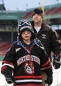 Gavin Nareski - The University of New Hampshire Wildcats defeated the Northeastern University Huskies 5-3 (EN) on Friday, January 8, 2010, at Fenway Park in Boston, Massachusetts as part of the Sun Life Frozen Fenway doubleheader.