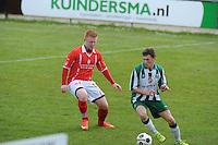 VOETBAL: JOURE: 30-04-2016, SC Joure - VV Mulier, uitslag 2-1, ©foto Martin de Jong