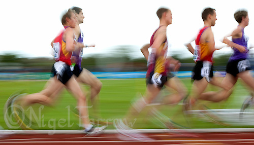 03 MAY 2010 - BEDFORD, GBR - Mens 5000m final - BUCS Outdoor Athletics Championships (PHOTO (C) NIGEL FARROW)