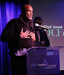 Kenny Leon and Jamil Jude during The Third Annual SDCF Awards at The The Laurie Beechman Theater on November 12, 2019 in New York City.