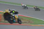 "Gran Premio Movistar de Aragón<br /> during the moto world championship in Motorland Circuit, Aragón<br /> Race Moto3<br /> after ""sacacorchos""<br /> PHOTOCALL3000"