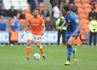 Blackpool's Liam Feeney<br /> <br /> Photographer Kevin Barnes/CameraSport<br /> <br /> The EFL Sky Bet League One - Blackpool v Gillingham - Saturday 4th May 2019 - Bloomfield Road - Blackpool<br /> <br /> World Copyright © 2019 CameraSport. All rights reserved. 43 Linden Ave. Countesthorpe. Leicester. England. LE8 5PG - Tel: +44 (0) 116 277 4147 - admin@camerasport.com - www.camerasport.com