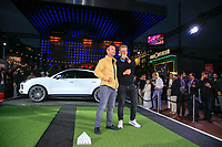 Paul Casey (ENG) at the Porsche Urban Golf Challenge in the Reeperbahn the famous Red light district in Hamburg ahead of the Porsche European Open at Green Eagles Golf Club, Luhdorf, Winsen, Germany. 03/09/2019.<br /> Picture Fran Caffrey / Golffile.ie<br /> <br /> All photo usage must carry mandatory copyright credit (© Golffile | Fran Caffrey)