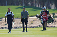 Rasmus Hojgaard (DEN) on the 6th during the Pro-Am of the Abu Dhabi HSBC Championship 2020 at the Abu Dhabi Golf Club, Abu Dhabi, United Arab Emirates. 15/01/2020<br /> Picture: Golffile | Thos Caffrey<br /> <br /> <br /> All photo usage must carry mandatory copyright credit (© Golffile | Thos Caffrey)