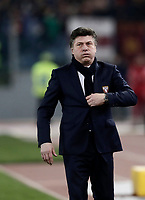 Calcio, Serie A: AS Roma - Torino Roma, stadio Olimpico, 9 marzo, 2018.<br /> Torino's coach Walter Mazzarri looks on during the Italian Serie A football match between AS Roma and Torino at Rome's Olympic stadium, 9 marzo, 2018.<br /> UPDATE IMAGES PRESS/Isabella Bonotto