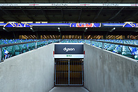 A general view of Dyson branding. The Clash, Aviva Premiership match, between Bath Rugby and Leicester Tigers on April 8, 2017 at Twickenham Stadium in London, England. Photo by: Patrick Khachfe / Onside Images