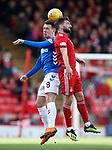 03.03.2019 Aberdeen v Rangers: Ryan Jack and Graeme Shinnie