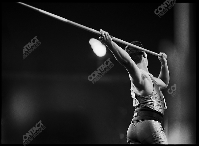 Dariuz Trafas (Poland), Javelin, Olympics Games, Sydney, Australia, September 2000