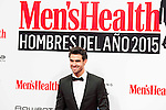 Juan Betancourt attends to the delivery of the Men'sHealth awards at Goya Theatre in Madrid, January 28, 2016.<br /> (ALTERPHOTOS/BorjaB.Hojas)
