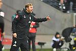 06.10.2019, Commerzbankarena, Frankfurt, GER, 1. FBL, Eintracht Frankfurt vs. SV Werder Bremen, <br /> <br /> DFL REGULATIONS PROHIBIT ANY USE OF PHOTOGRAPHS AS IMAGE SEQUENCES AND/OR QUASI-VIDEO.<br /> <br /> im Bild: Florian Kohlfeldt (Trainer, SV Werder Bremen)<br /> <br /> Foto © nordphoto / Fabisch