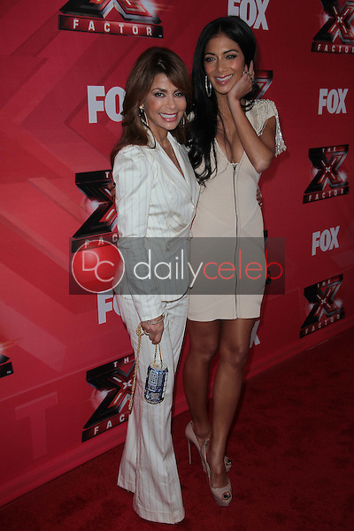 Paula Abdul and Nicole Scherzinger <br />