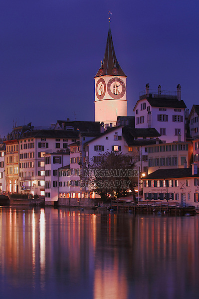 St Peter's Church, Zurich, Switzerland