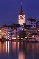 St Peter's Church, Zurich, Switzerland